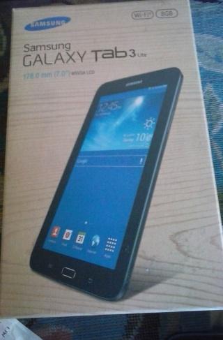 mijn Galaxy Tab 3