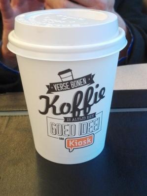 Koffie voor Ron