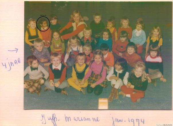kleuterklas 1974